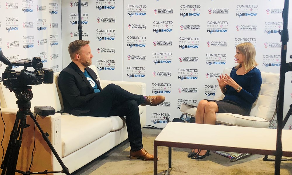 Interview at NAB 2018 with CEO Thomas Christensen